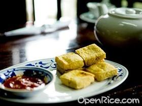 薑酒豆腐冷盤