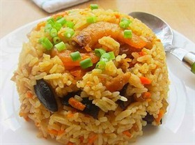 香菇蝦米飯