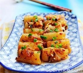 拌飯醬炒豬腸粉
