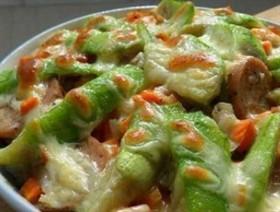 雜蔬香腸焗飯