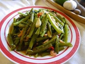 蝦醬空心菜