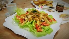 蟹肉溫沙拉