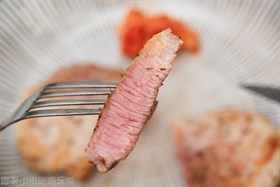 偽澳洲沙朗牛排之梅花豬排