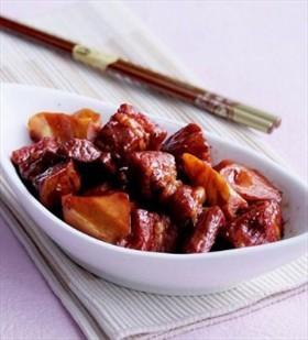 東坡肉燒春筍