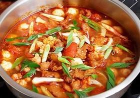 雜菜酸辣湯