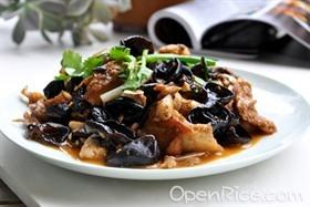 木耳燴魚片
