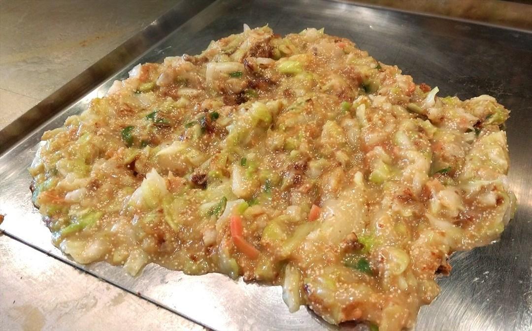 麻糬醃鱈魚子起司文字燒