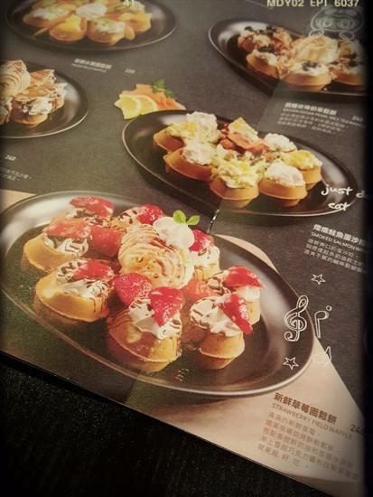 新鮮草莓園鬆餅(NT 240)