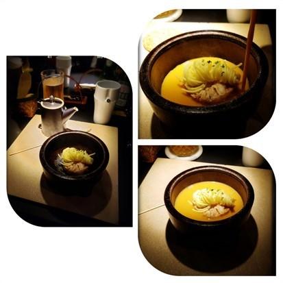 干邑龍蝦海鮮湯佐擔仔麵